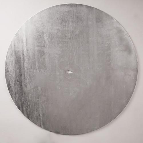 Galvanised steel floor plate.