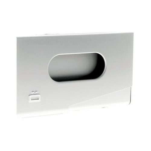 Business Card Holder - Silver