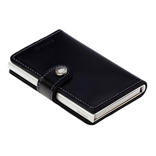 RFID Safe Miniwallet - Black