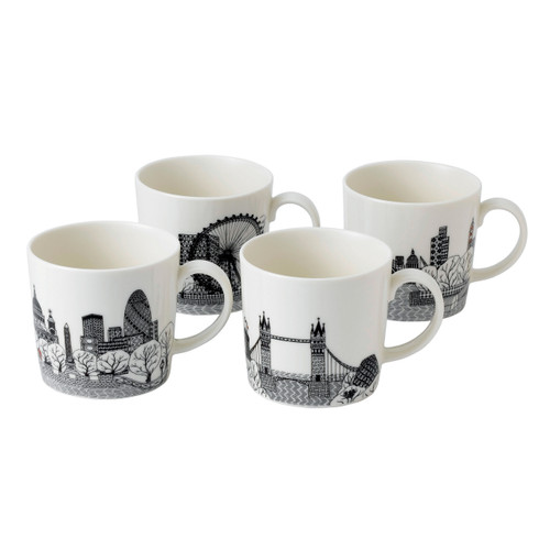 London Calling mugs (4pc)