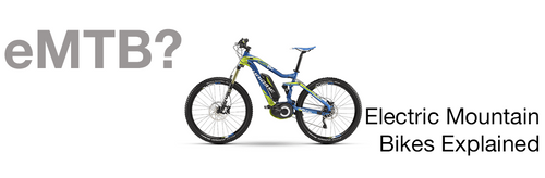 What is an eMTB? (Electric Mountain Bike)