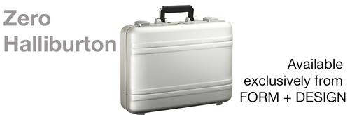 Zero Halliburton Aluminium Attachè and Luggage Available again in Australia Exclusively from FORM + DESIGN