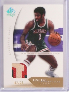 05-06 Sp Authentic Extra Limited Oscar Robertson 3clr patch #D02/25 #47 *50516