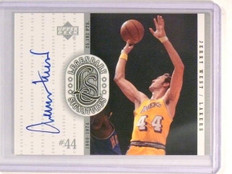 99-00 Upper Deck Legends Signatures Jerry West autograph auto #JW *44754