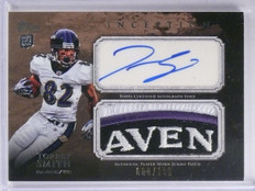 2011 Topps Torrey Smith Rookie Patch Autograph #D089/150 #AJPTS *65287