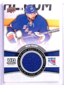 2015-16 Upper Deck Series 1 Rick Nash UD Game Jersey #GJRN *54220