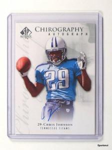 2009 SP Authentic Chirography Chris Johnson autograph auto #Ch-CJ *43620