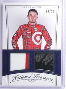 2016 Panini National Treasures Tire Sheet Metal Kyle Larson #D24/25 #CMKL *65425