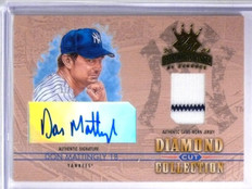 2004 Diamond Kings Cut Collection Don Mattingly autograph jersey #D11/23 *58379