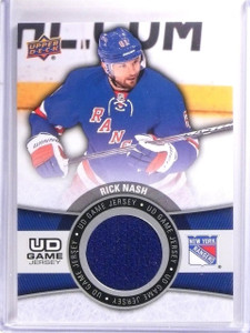 2015-16 Upper Deck Series 1 Rick Nash UD Game Jersey #GJRN *54088