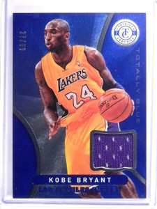2012-13 Totally Certified Blue Kobe Bryant Jersey #D27/99 #1 *64136