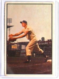 1953 Bowman Color Gil Hodges #92 VG *32278
