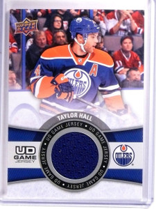 2015-16 Upper Deck Series 1 Taylor Hall UD Game Jersey #GJTH *54080
