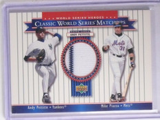 2002 Upper Deck World Series Heroes Matchups Andy Pettitte Jersey #MU00A *66192