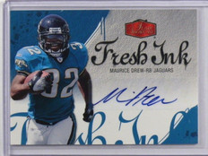 2006 Flair Showcase Fresh Ink Maurice Drew auto autograph rookie *36917