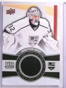 2015-16 Upper Deck Series 1 Jonathan Quick UD Game Jersey #GJJQ *53988