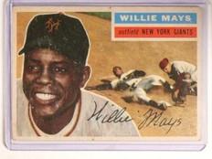 1956 Topps Willie Mays #130 vg *45581