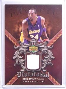 2007-08 UD Artifacts Divisional Kobe Bryant Jersey #D065/100 #DAKB *64205