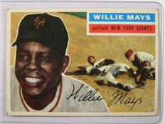 1956 Topps Willie Mays #130 vg *31715