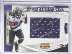 2011 Gridiron Gear Gems Torrey Smith auto autograph rc jersey #D174/303 #3 *3400