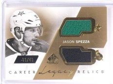 2015-16 SP Game Used Jason Spezza Career Legacy Dual Jersey #D03/49 #CLJS *53778