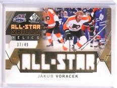 2015-16 SP Game Used Jakub Voracek All-Star Relics Jersey #D37/49 #ASJV *53777