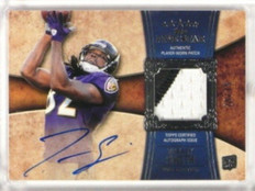 2011 Topps Five Star Torrey Smith auto autograph 2clr patch rc #D29/75 #175 *330