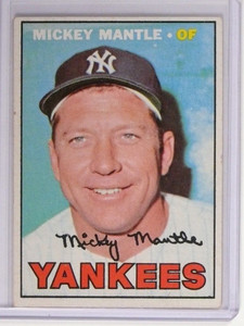 1967 Topps Mickey Mantle #150 VG-EX *48690