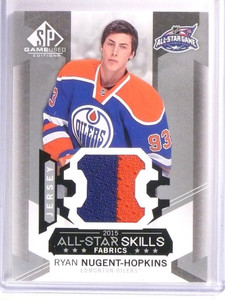 2015-16 SP Game Used Ryan Nugent-Hopkins All-Star Skills Jersey #AS23 *53769