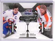 2015-16 SP Game Used Dual Jersey John Tavares Jakub Voracek #AS214 *53766