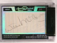 2013 Tristar Signa Cuts Willie Mccovey autograph auto #D 1/1 *67385