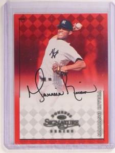 1998 Donruss Signature Series Mariano Rivera autograph auto *67355