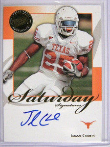 2008 Press Pass Legends Saturday Jamaal Charles auto rc rookie *29029
