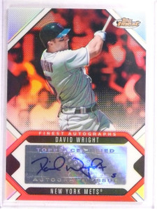 2006 Topps Finest David Wright autograph auto #FA-DW *67603