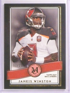 2015 Topps Museum Collection Jameis Winston Red Amethyst RC #D11/25 #45 *53662