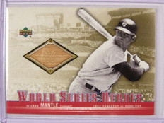 2001 Upper Deck World Series Heroes Mickey Mantle bat #WSB-MM *30591