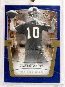 2004 Flair Eli Manning Rookie RC #D253/799 #61 *52795