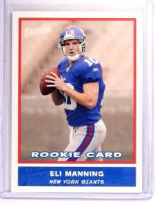 2004 Topps Bazooka Eli Manning  Rookie RC #200 *52757