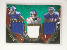 2014 Triple Threads Odell Beckham Victor Cruz Williams rookie jersey /18 *52194