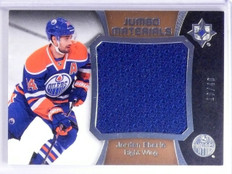 2015-16 Ultimate Collection Jumbo Materials Jordan Eberle Jersey #D13/40 *65431