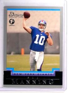2004 Bowman 1st edition Eli Manning Rookie RC #111 *52703