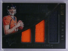 2016 Panini Black Gold Paxton Lynch Rookie Jersey #D001/199 #ML9 *65520