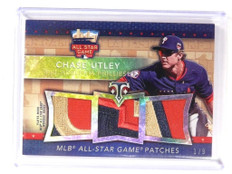 2015 Topps Triple Threads Chase Utley All-Star Game Patch #D1/9 #TTASp-CU *52106