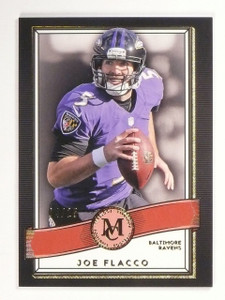 2017 Topps Museum Collection Joe Flacco Amethyst #D04/25 #39 *53081