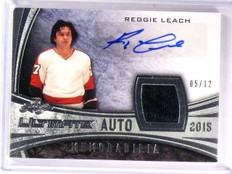 2015 Leaf Ultimate Reggie Leach Autograph Jersey Patch Blue #D05/12 #APMRL1 *544