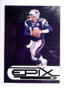 2005 Donruss Zenith Epix Tom Brady 4th Down Purple #D077100 #E24 *52694