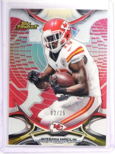 2015 Topps Finest Jeremy Maclin Red Refractor #02/25 #89 *52656