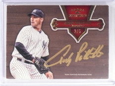 2012 Topps Five Star Gold Andy Pettitte autograph auto #D2/5 *49315