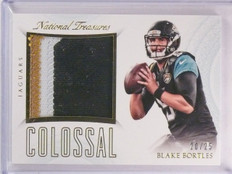 2015 National Treasures Blake Bortles Colossal Jersey Patch #D20/25 #CMBB *55813