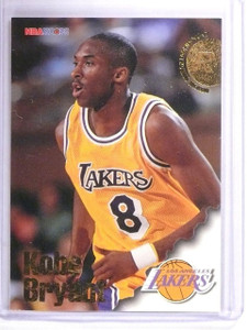 1996-97 Hoops Kobe Bryant Rookie RC #281 *62087
